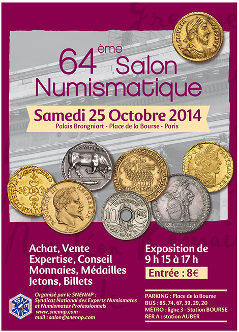 64 ème salon numismatique