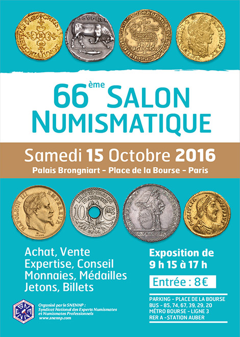 66 ème salon numismatique