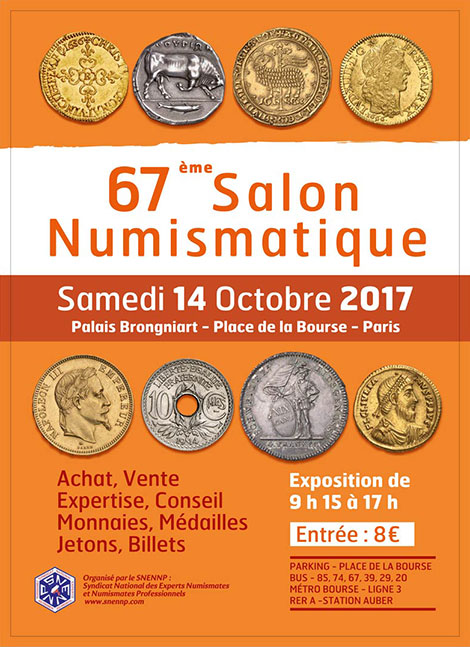 snennp syndicat national des experts numismates et