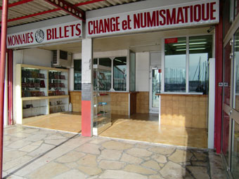 CHANGE ET NUMISMATIQUE DU PORT